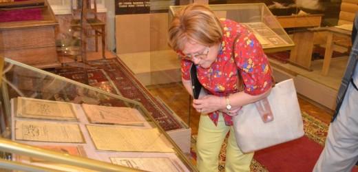 Тюлай Дюран в Литературном музее Габдуллы Тукая